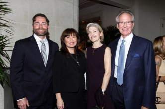 George Gardner, Janice Palmer, Patty Dean, and Park Miller at the CARP 2017 Annual Spring Luncheon.