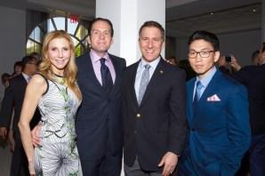 IMG_5198 Susan Roy,Rick Hutchinson,State Attorney Dave Aronberg & Kevin Choi