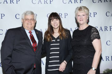 Chief Deputy Michael Gauger, Mackenzie Phillips & Phyllis Gauger