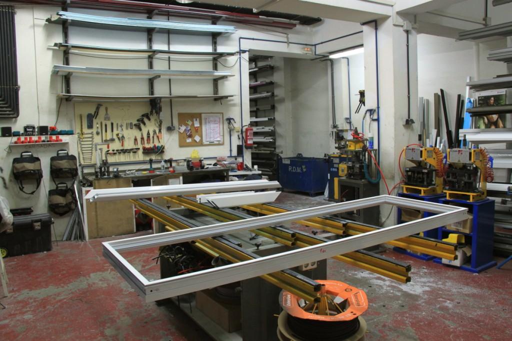 Fabricacin carpintera de aluminio Barcelona ponsico