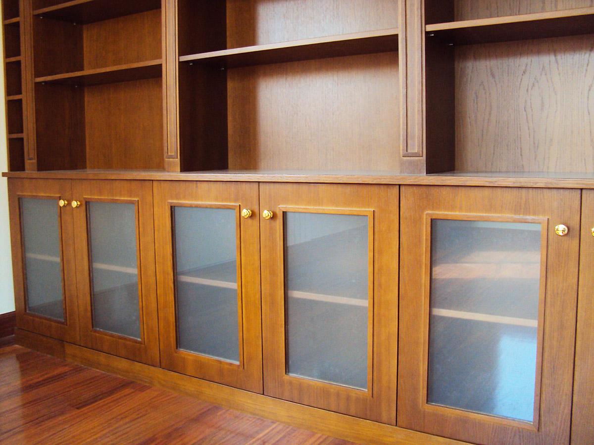 Biblioteca madera  Carpinteria Iberre