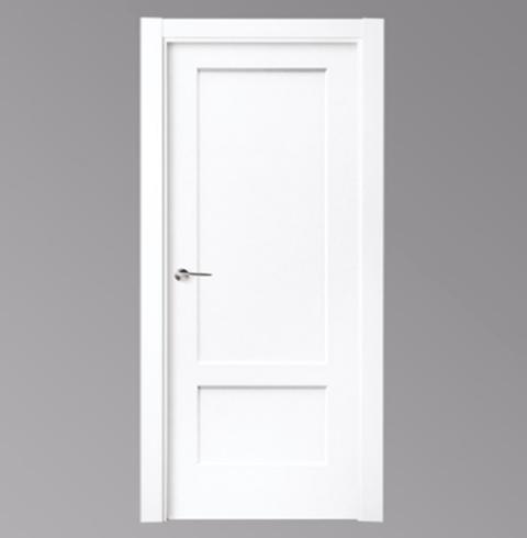 puertas blancas lacadas