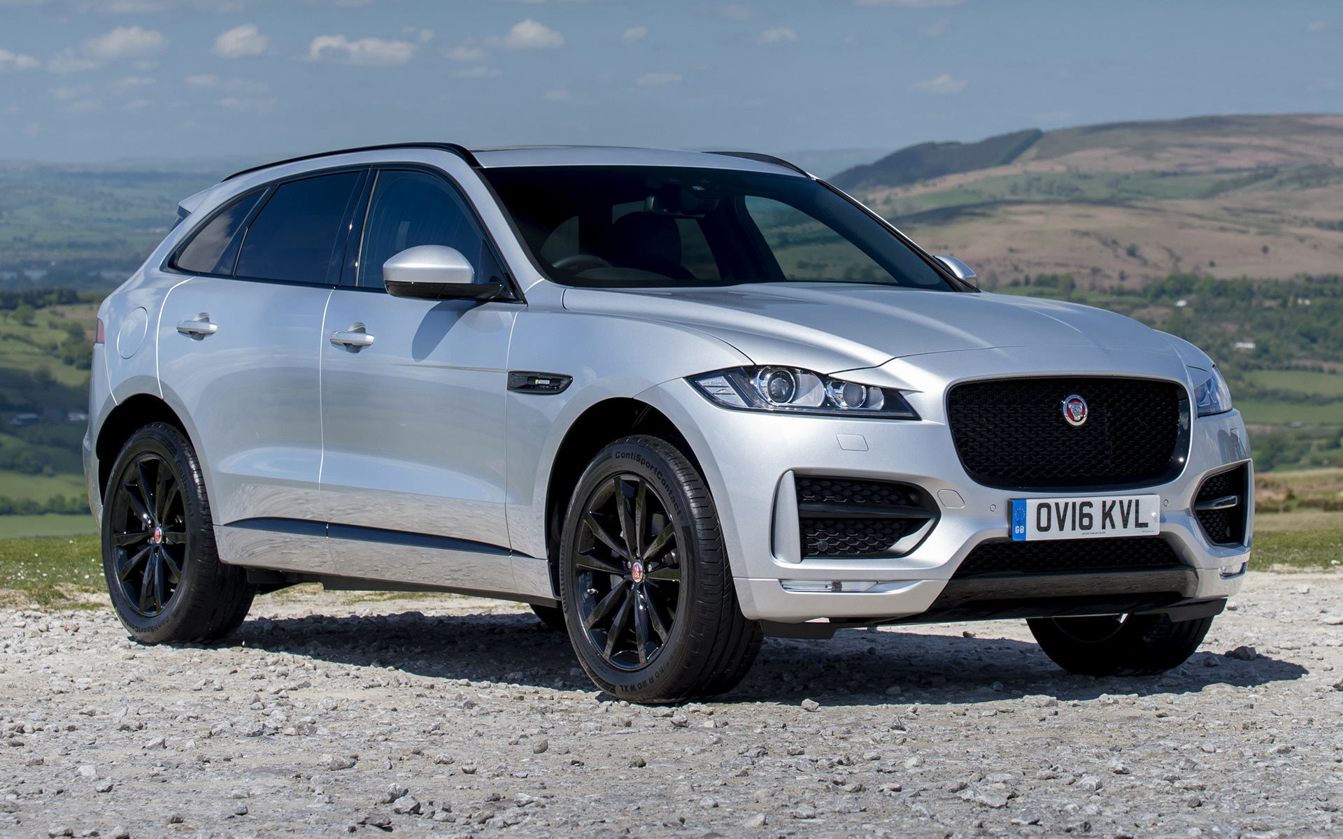 Jaguar F Pace R Sport 2016 UK Wallpapers And HD Images