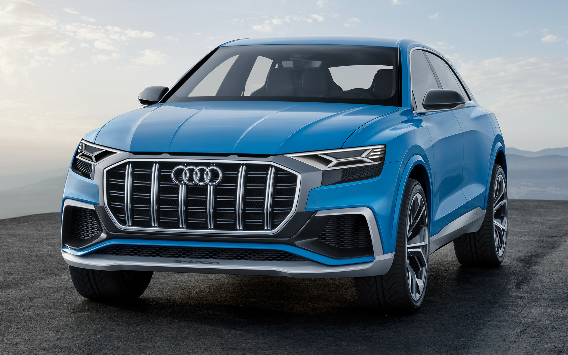 2017 Audi Q8 Concept Wallpapers And Hd Images Car Pixel