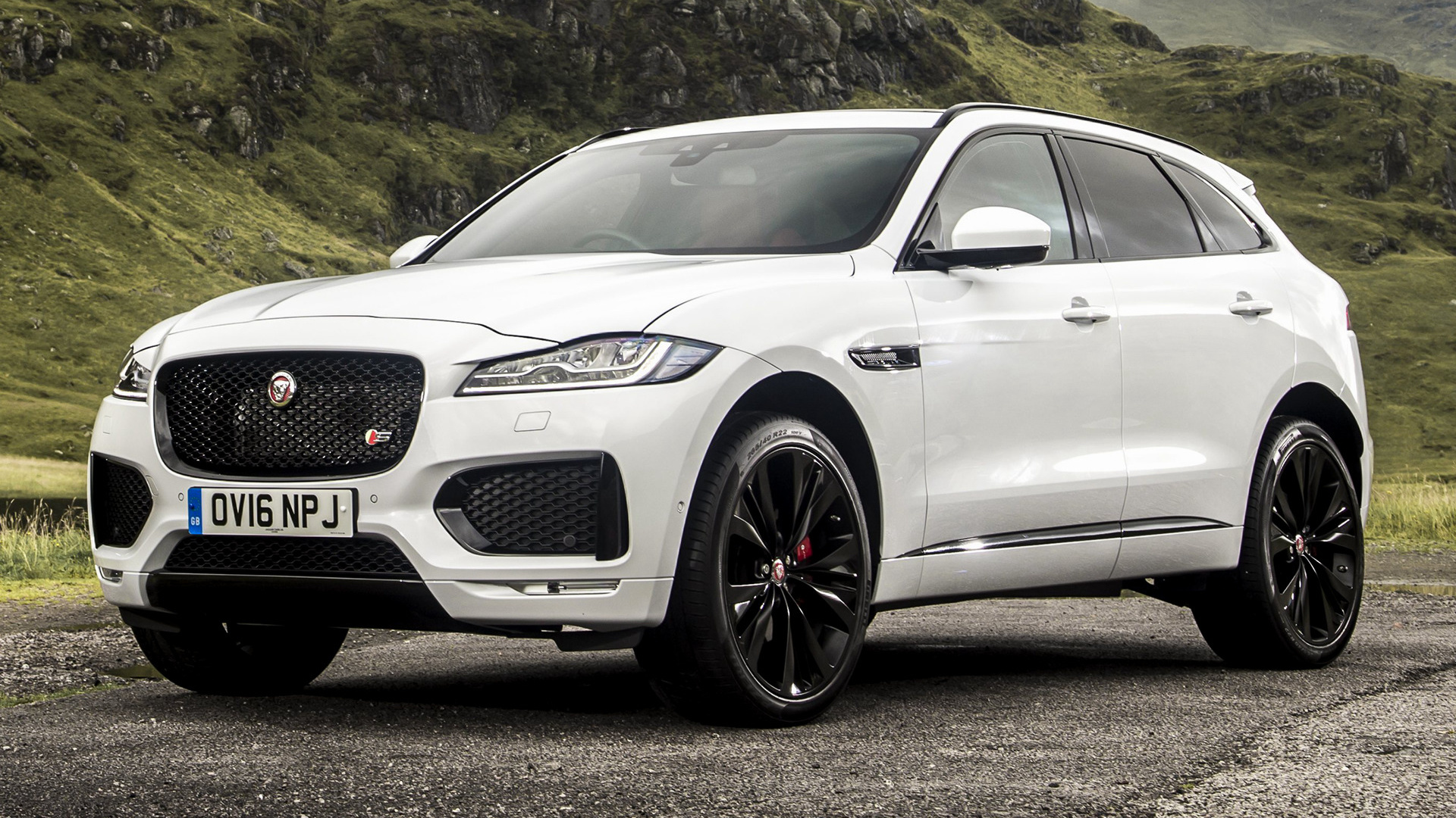 Jaguar F Pace S 2016 UK Wallpapers And HD Images Car Pixel