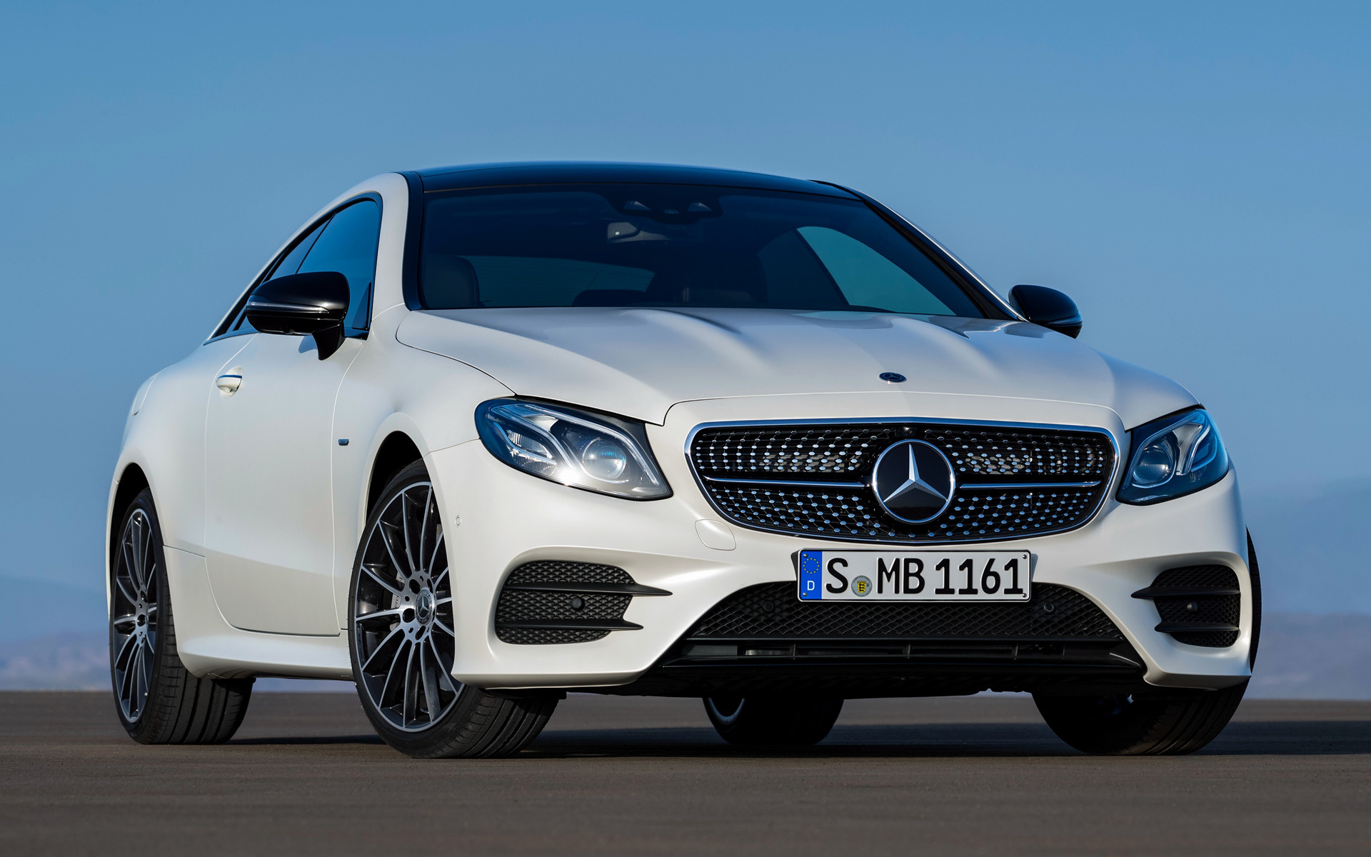 2017 Mercedes Benz E Class Coupe Amg Line Wallpapers And Hd Images