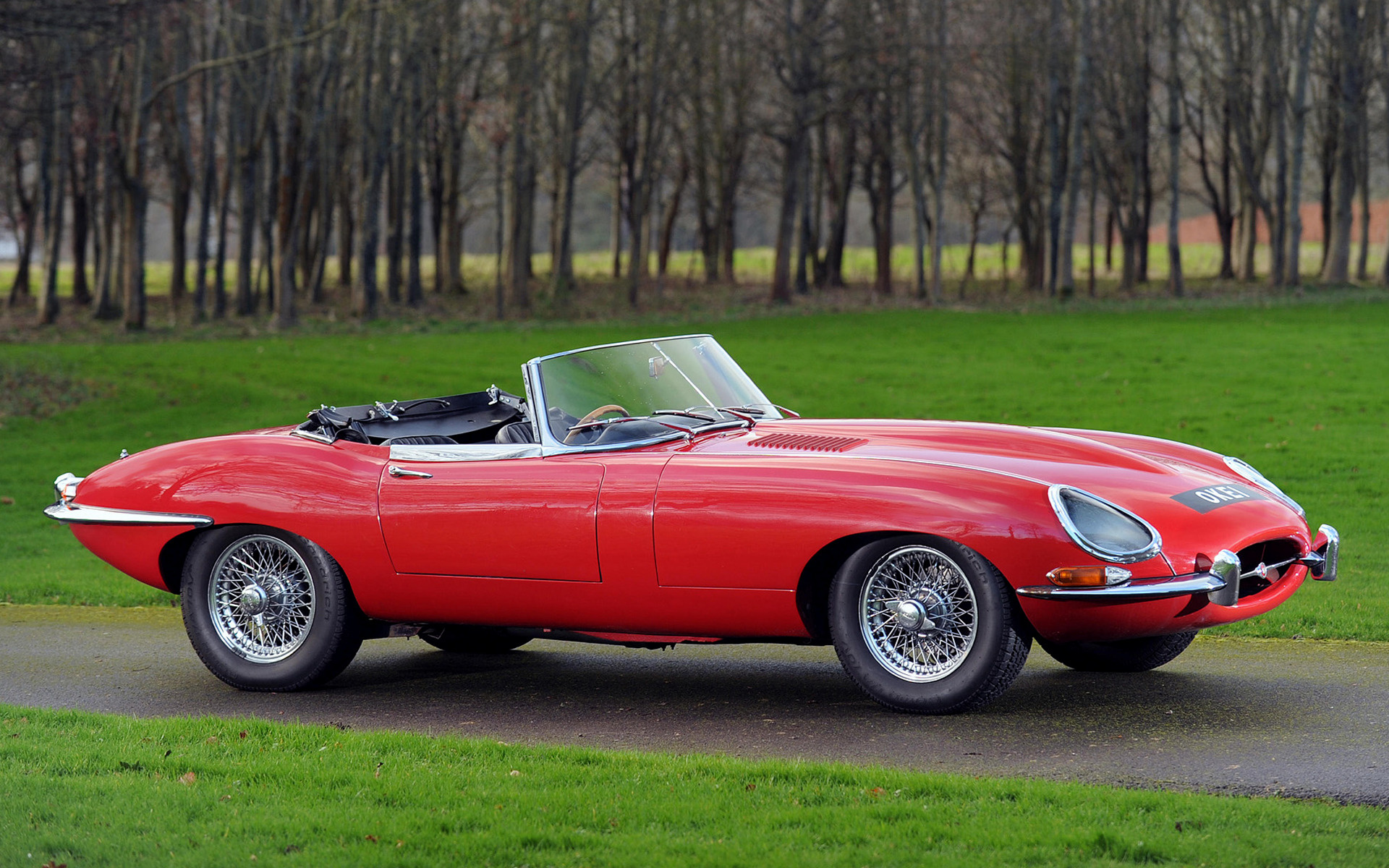 Open Jeep Car Wallpaper Jaguar E Type Open Two Seater 1961 Uk Wallpapers And Hd
