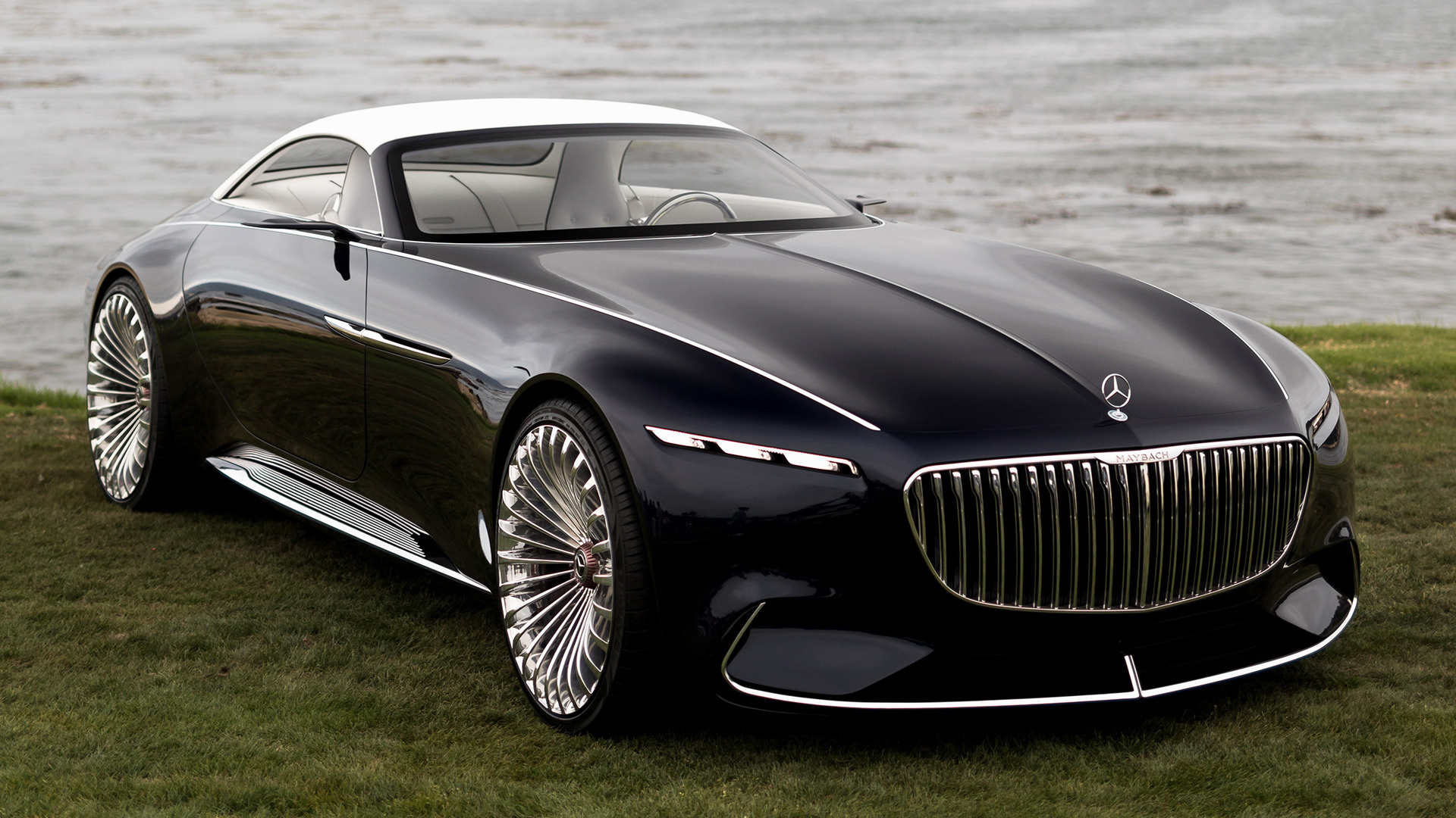 2017 Vision Mercedes Maybach 6 Cabriolet Wallpapers And