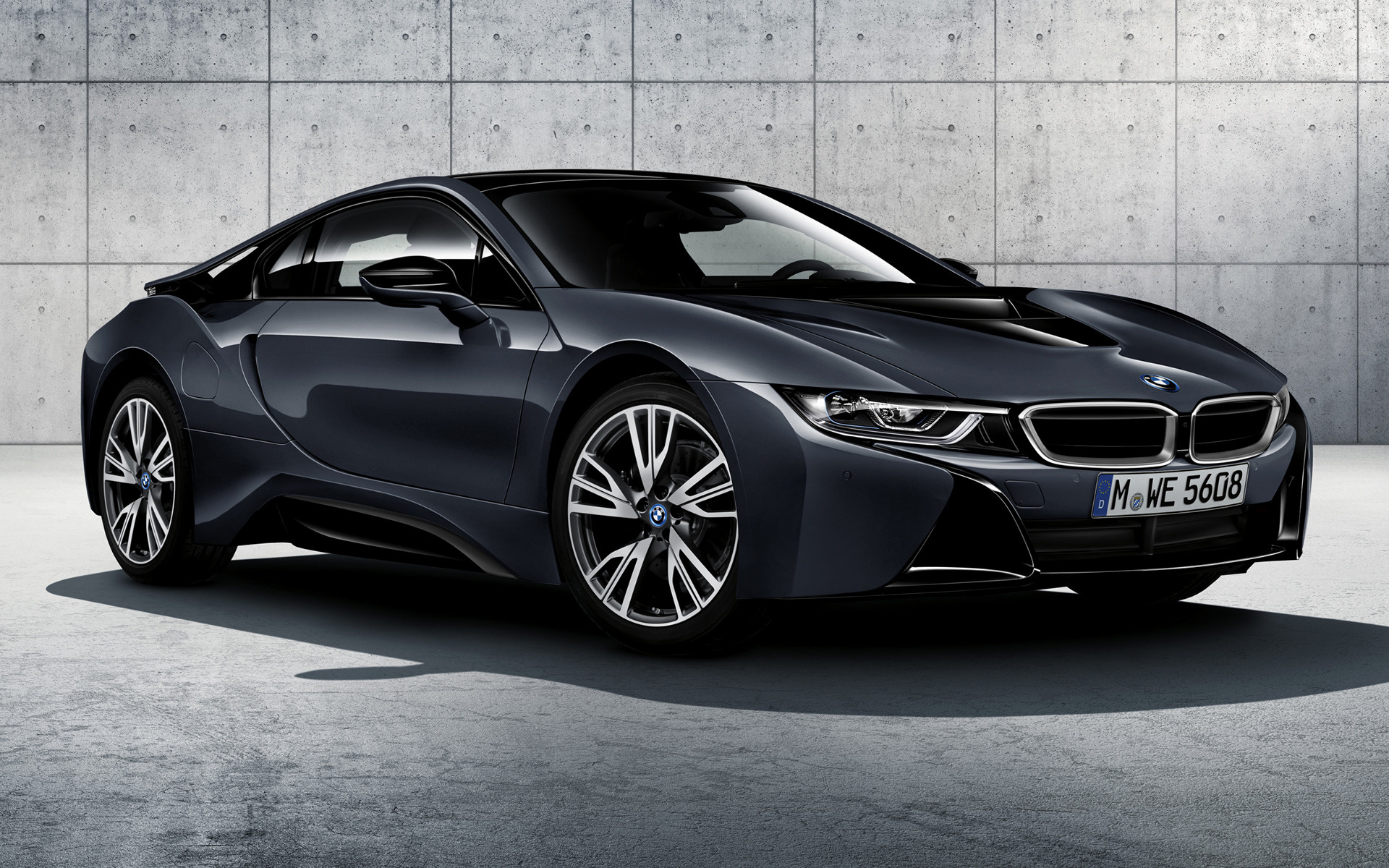 2016 Bmw I8 Protonic Dark Silver Edition Wallpapers And