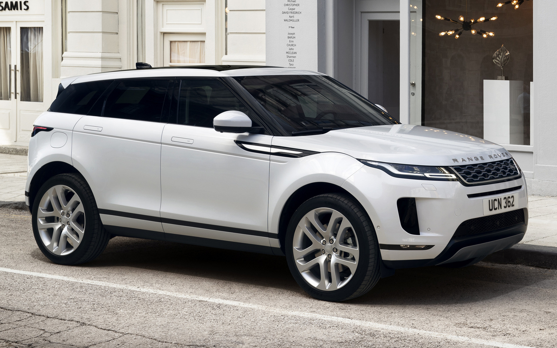 2019 Range Rover Evoque Wallpapers And Hd Images Car Pixel