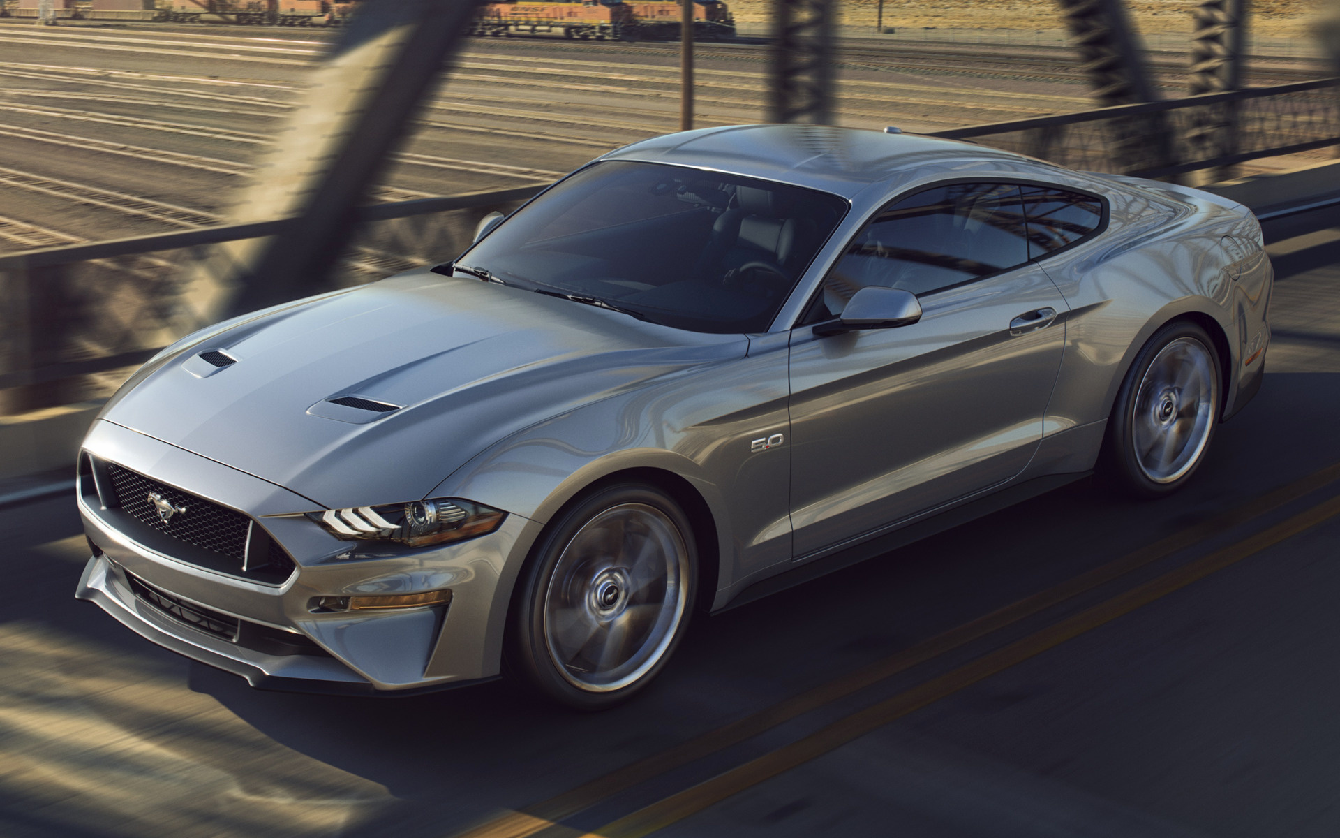 Ford Mustang Race Car Wallpaper 2018 Ford Mustang Gt Wallpapers And Hd Images Car Pixel