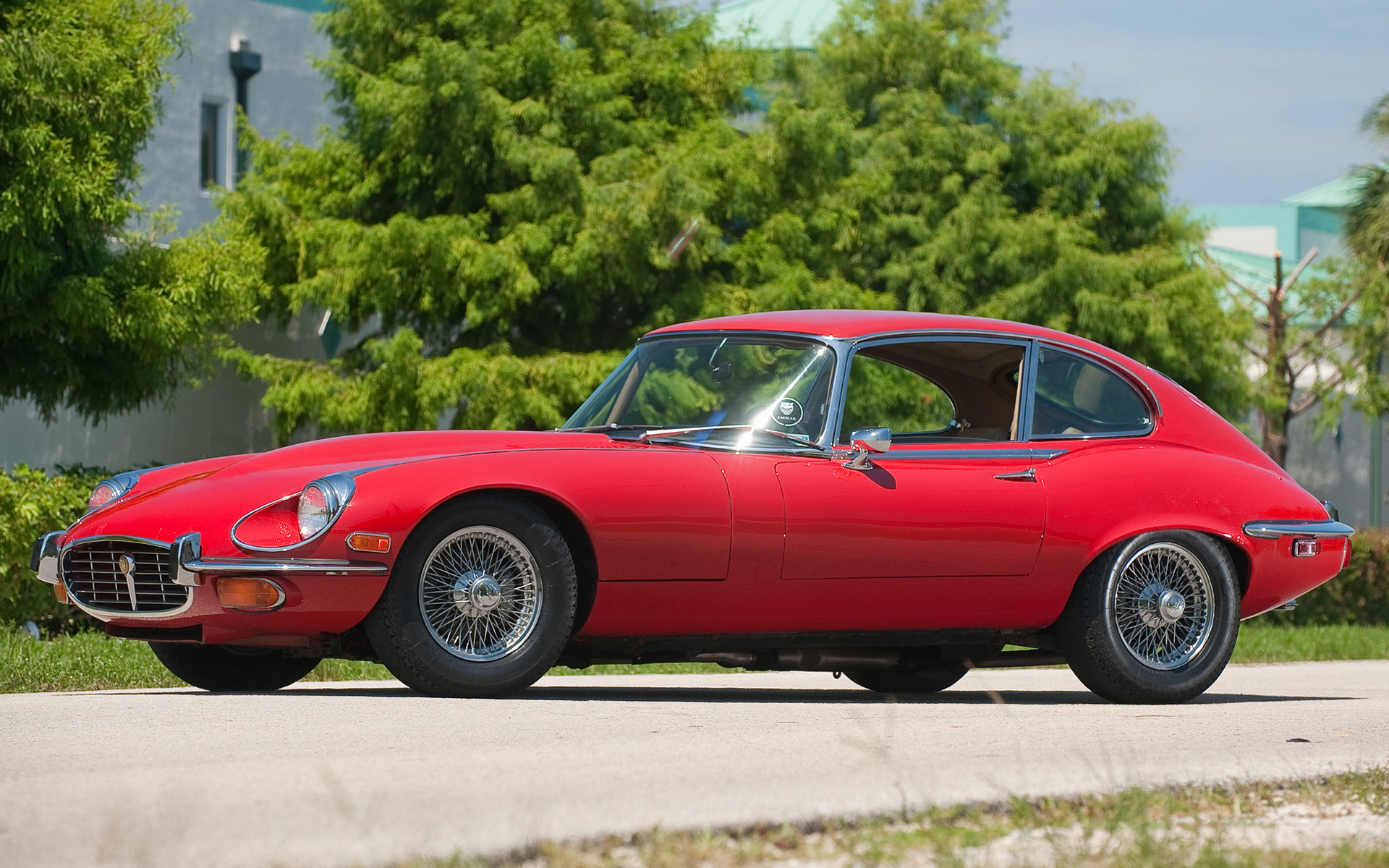 Open Jeep Car Wallpaper Jaguar E Type V12 2 2 Coupe 1971 Us Wallpapers And Hd