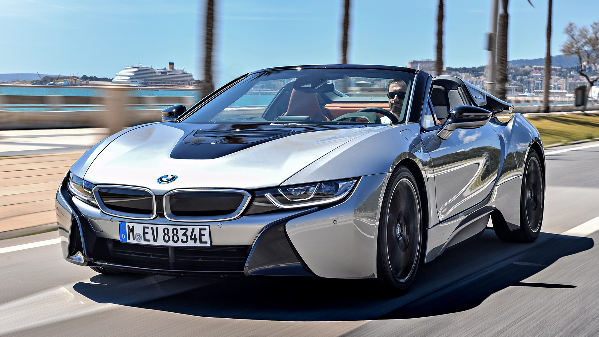2018 BMW I8 Roadster Wallpapers And HD Images Car Pixel