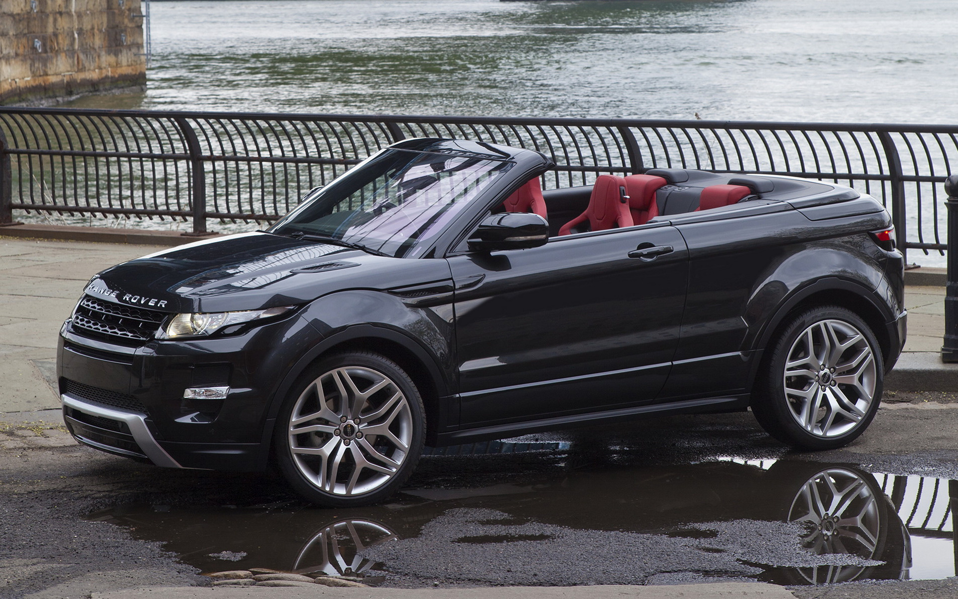 2012 Range Rover Evoque Convertible Concept Wallpapers And Hd