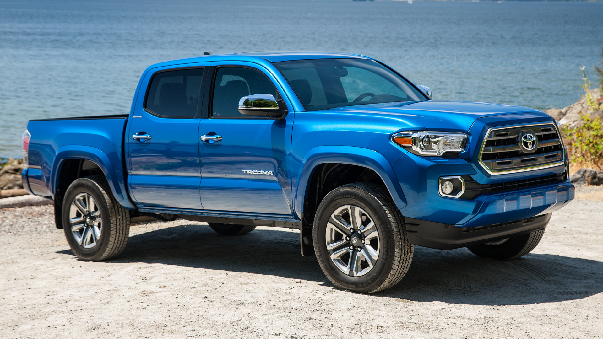 2016 Toyota Tacoma Limited Double Cab Wallpapers And Hd