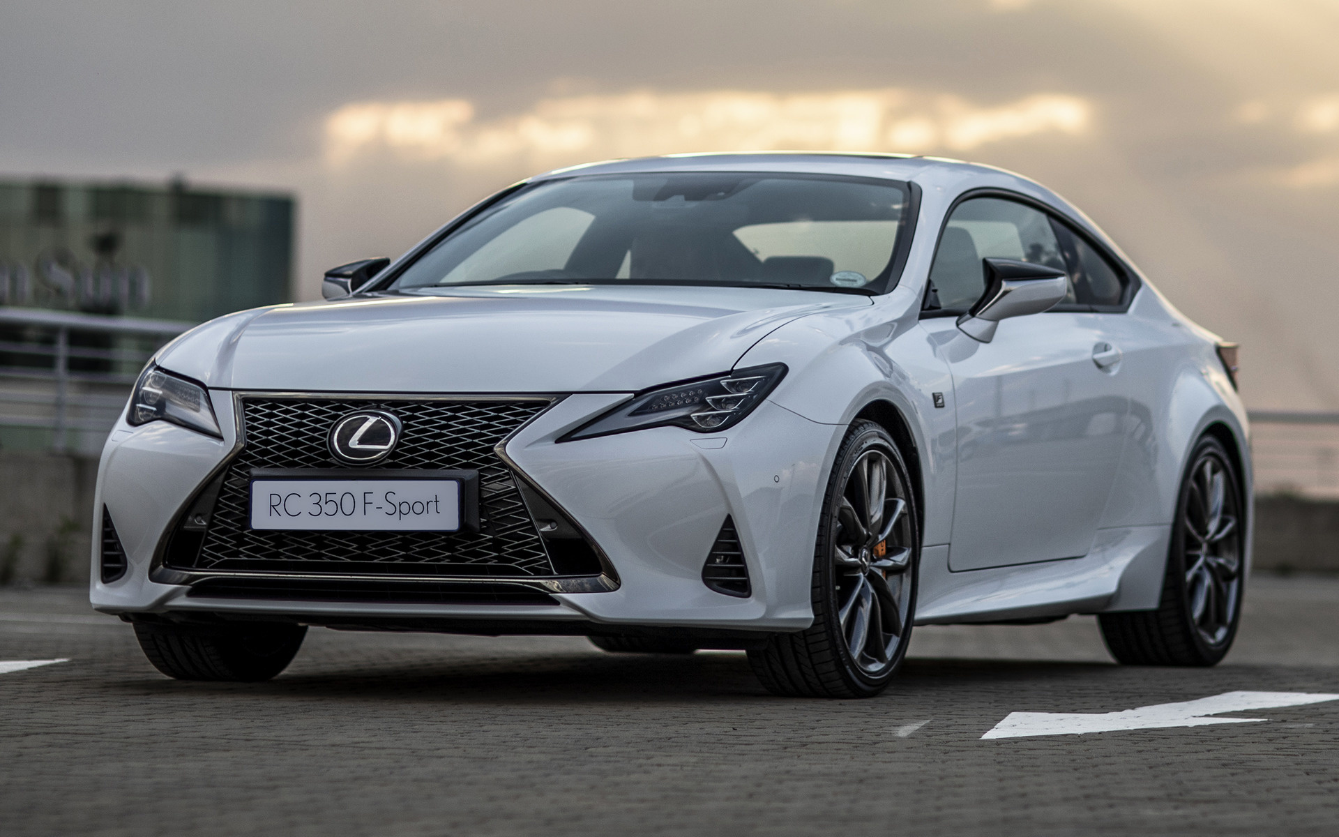 2019 Lexus Rc F Sport Za Wallpapers And Hd Images
