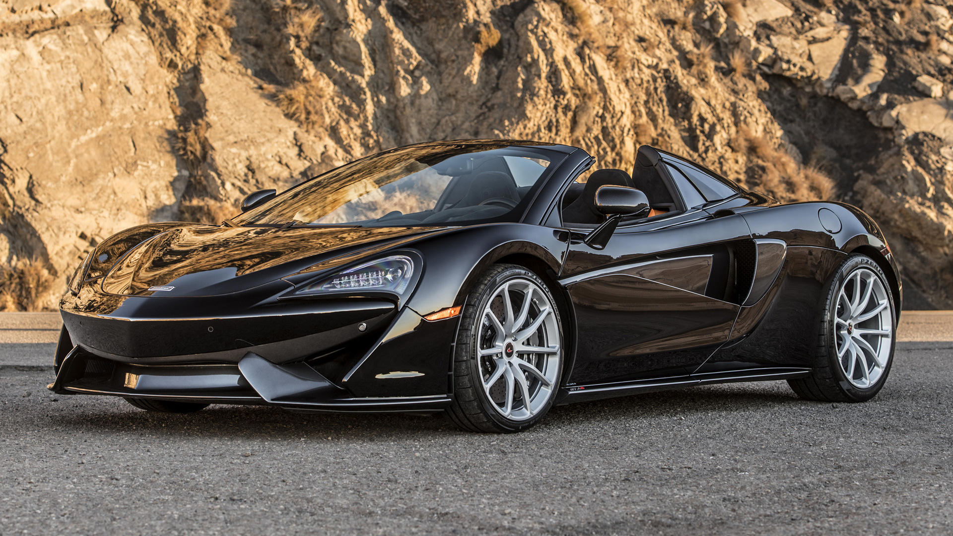 Track Car Wallpaper 2018 Mclaren 570s Spider Us Wallpapers And Hd Images