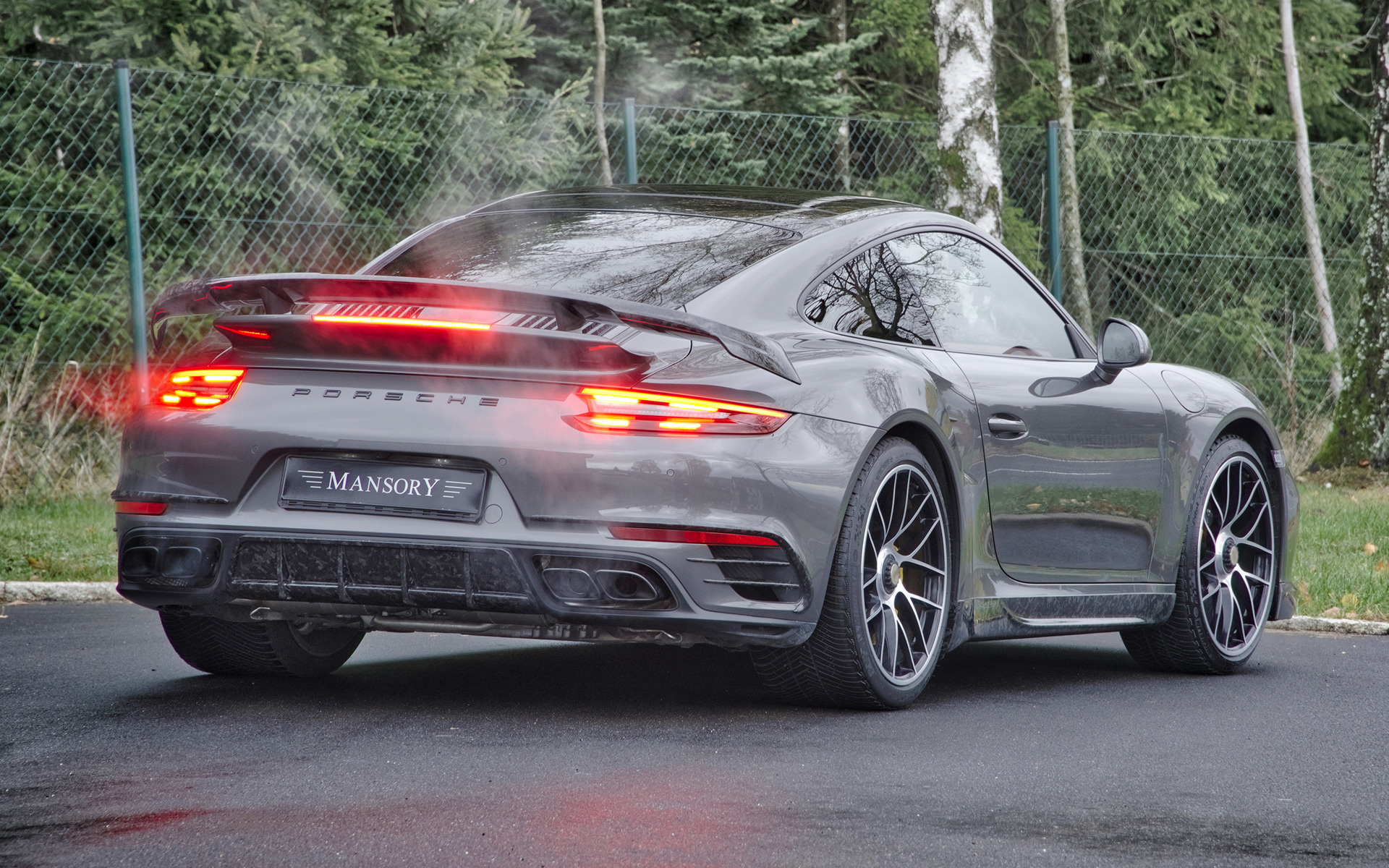 2018 Porsche 911 Turbo S By Mansory Wallpapers And HD