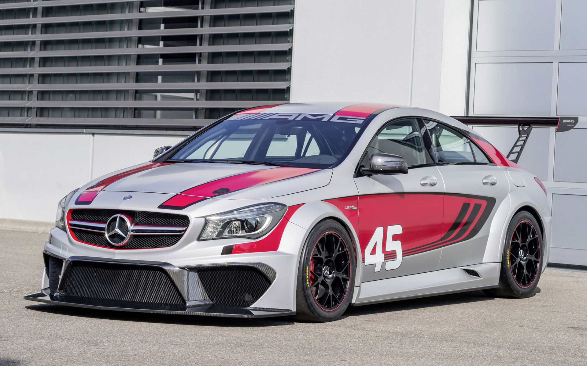 Nissan Gtr Car Hd Wallpapers Mercedes Benz Cla 45 Amg Racing Series Concept 2013