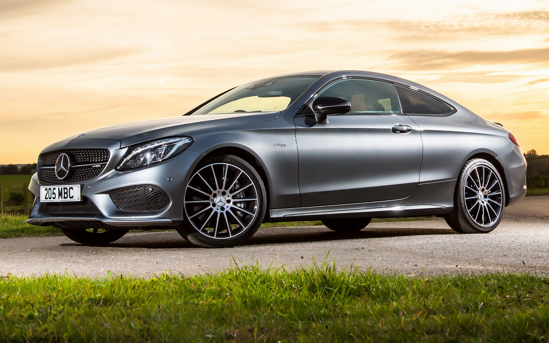 2016 Mercedes-AMG C 43 Coupe (UK) - Wallpapers and HD Images | Car Pixel