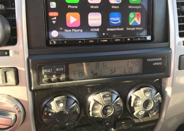 CarPlay Installs: Kenwood Excelon DDX-8905S in a 2005 Toyota 4Runner