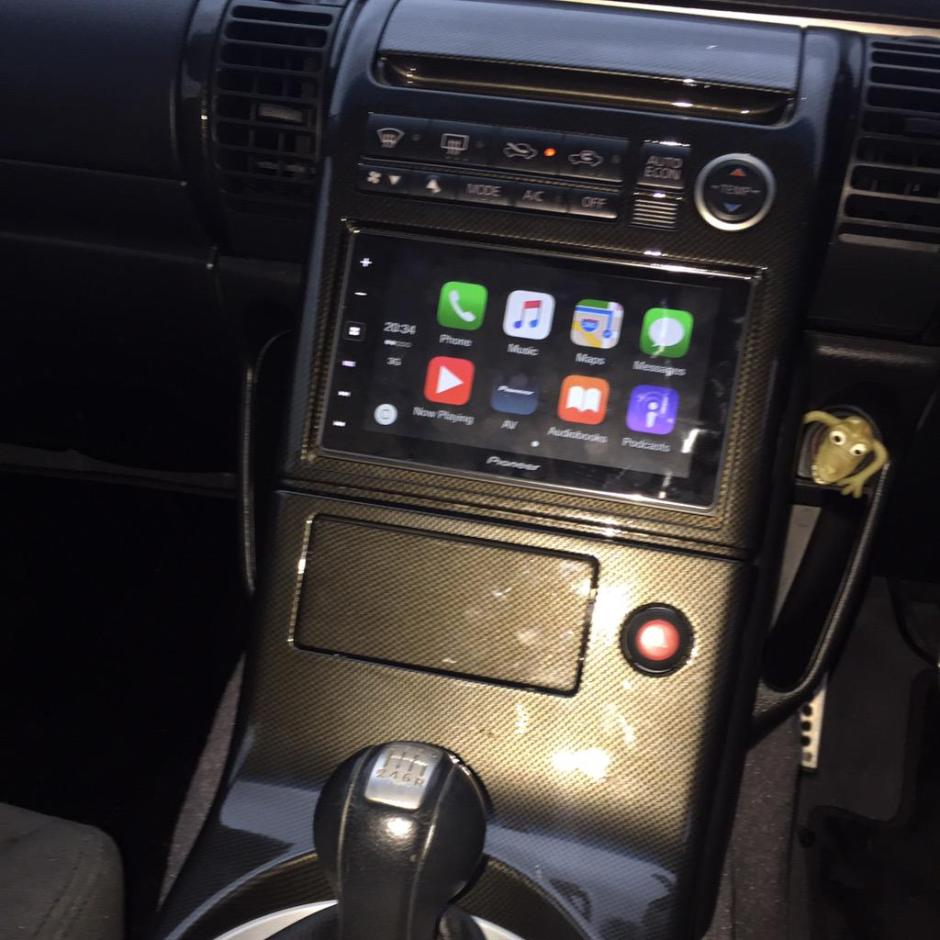2003 Nissan Skyline 350GT Carplay