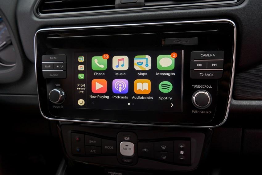 Nissan Announces New 2018 Leaf With Apple CarPlay Support - CarPlay ...