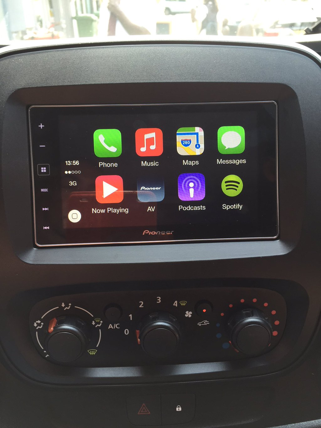 carplay installs pioneer sph da120 in a vauxhall vivaro. Black Bedroom Furniture Sets. Home Design Ideas