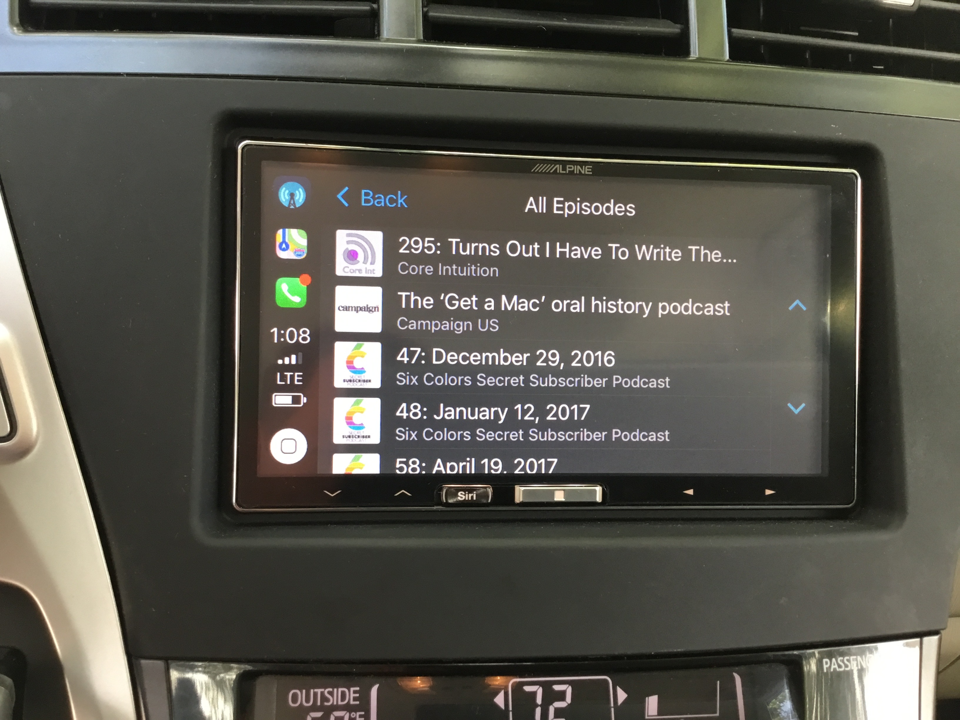How To Install Wireless Apple Carplay In A 2014 Toyota Prius V Alpine Wire Harness Car Gauges Ios 11
