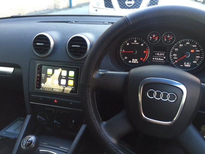 Audi A3 Carplay