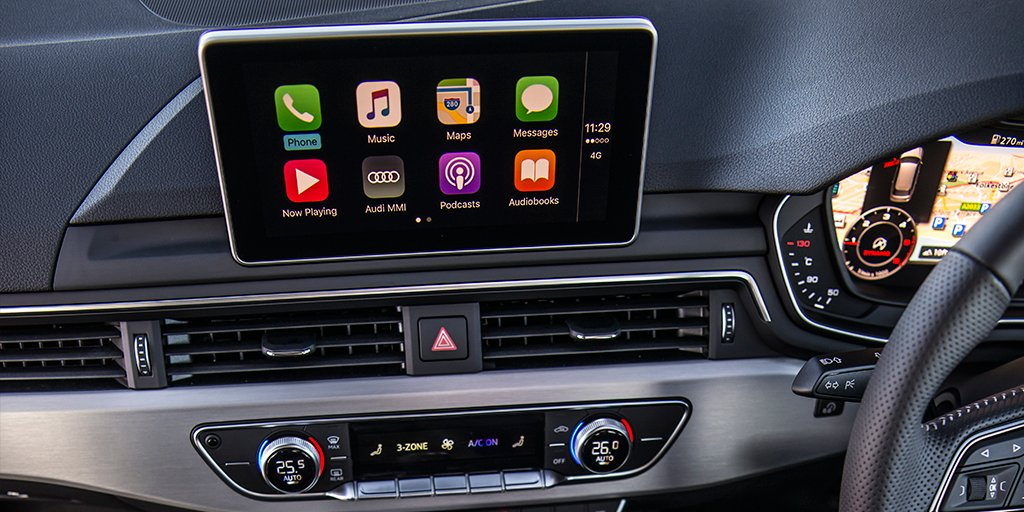 Apple CarPlay Installs Factory Fitted In A Audi A CarPlay - Audi car play