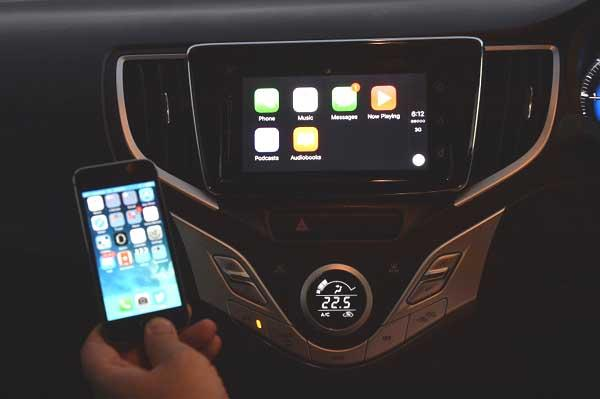 Baleno CarPlay
