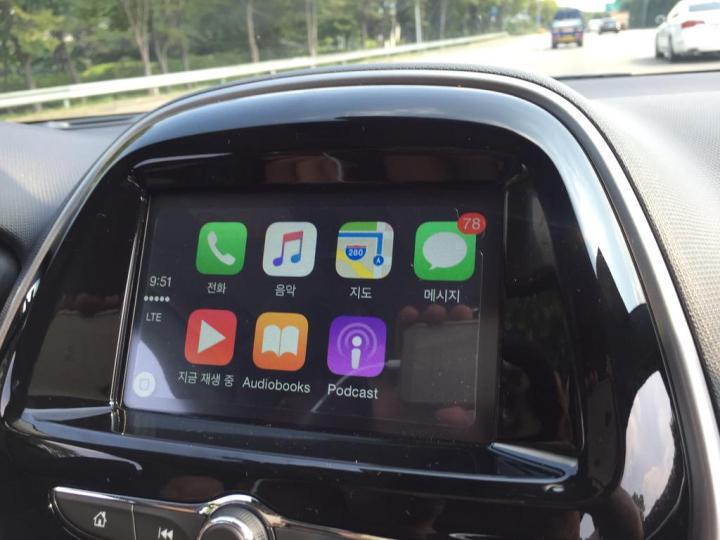 CarPlay Chevrolet Spark