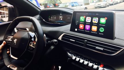 peugeot carplay life apple carplay news installs. Black Bedroom Furniture Sets. Home Design Ideas
