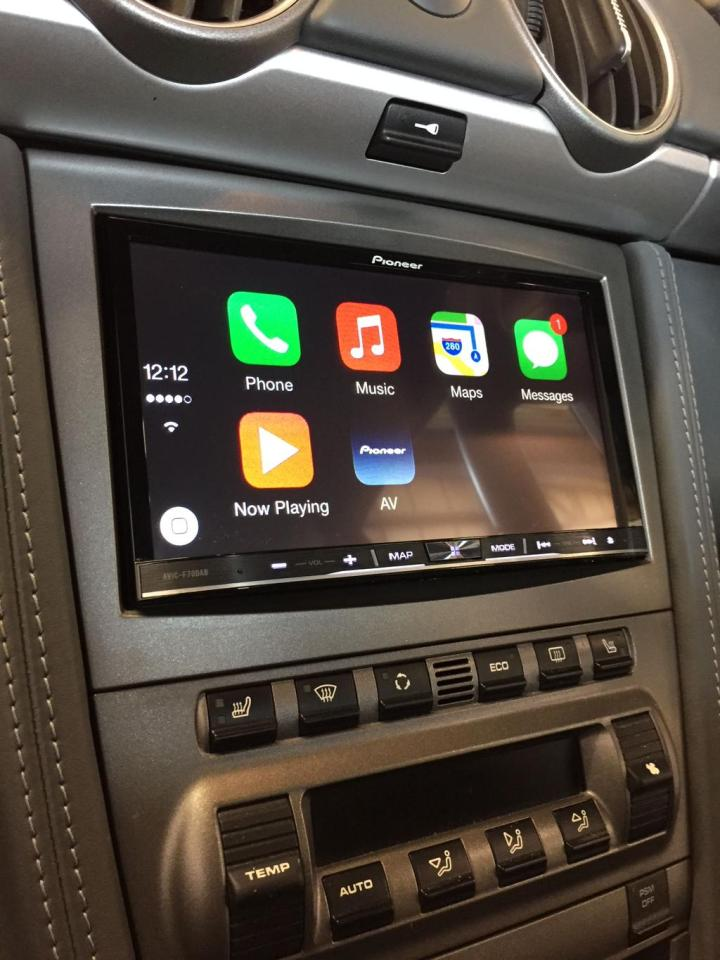 CarPlay Porsche 997 C4S