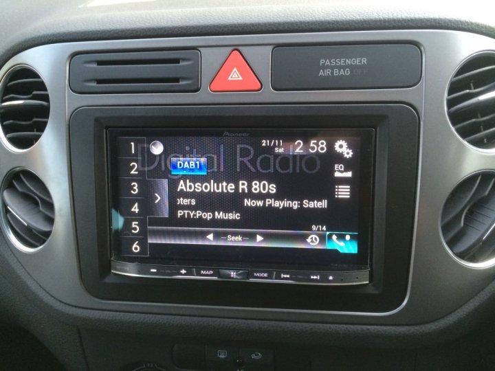 CarPlay VW Tiguan Install