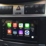 CarPlay Installs: Pioneer SPH-DA120 in a Mercedes CLK