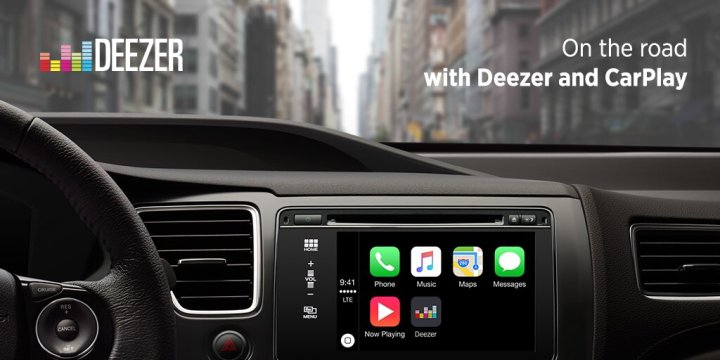 Deezer CarPlay