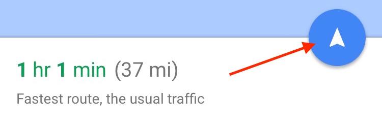 Google Maps App Start