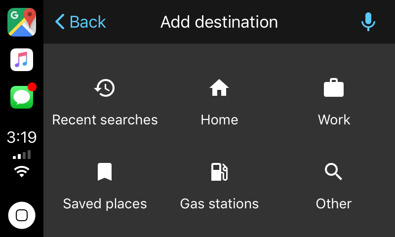 Google Maps Begins Beta Testing Its Carplay Ios 12 App Screenshots