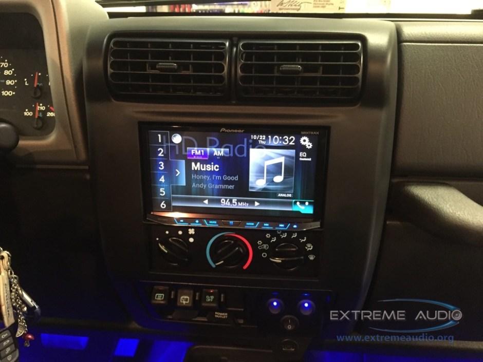 Jeep Wrangler CarPlay Install