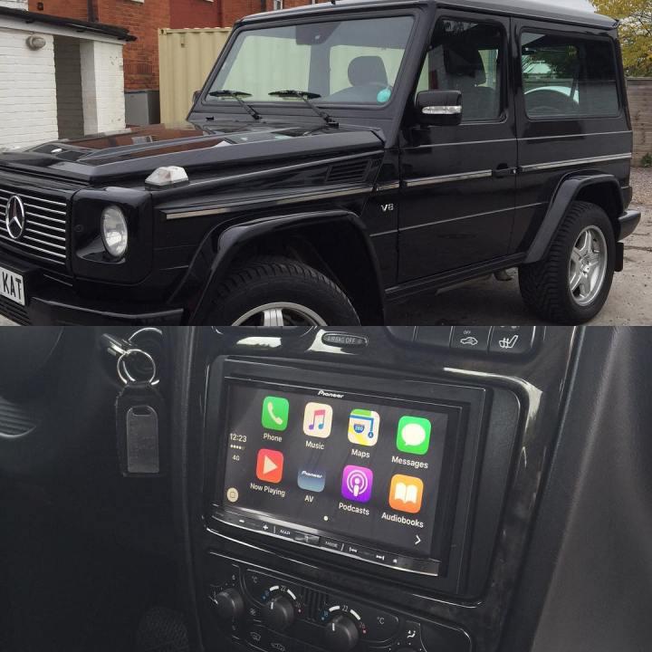 Mercedes CarPlay Install