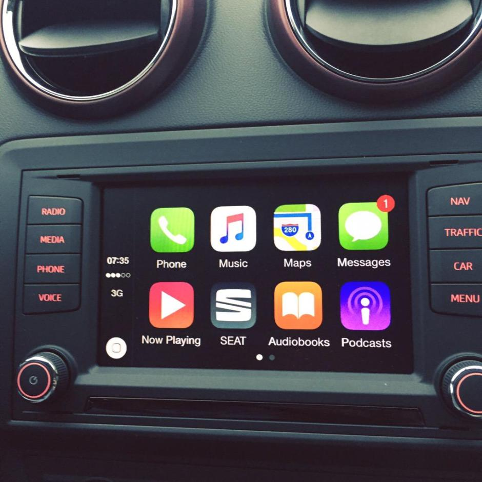 Seat Ibiza CarPlay