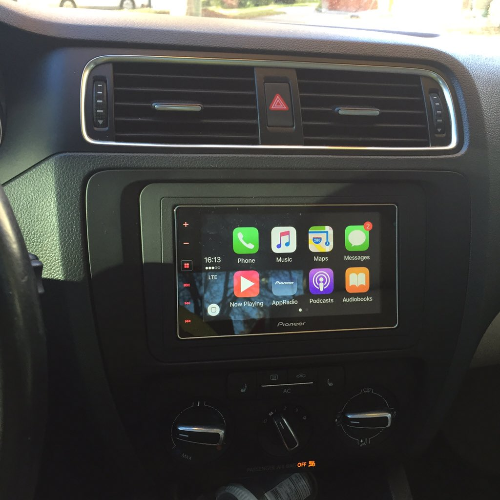 carplay installs pioneer appradio 4 sph da120 in a 2011. Black Bedroom Furniture Sets. Home Design Ideas