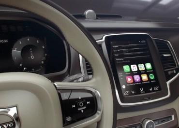Volvo Demo Apple CarPlay In New 2015 Models