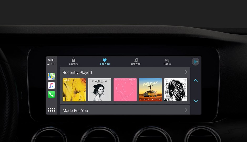 New Apple Music App revealed in iOS 13 Apple CarPlay