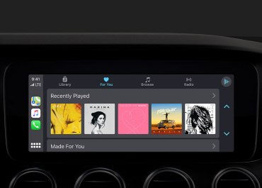 New Apple Music App revealed in iOS 13 Apple CarPlay – Featuring album art