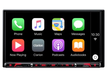 Clarion NX807 Apple CarPlay Receiver Now Available In Stores