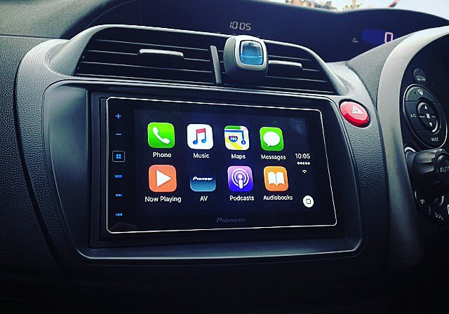 honda civic type S 2010 carplay
