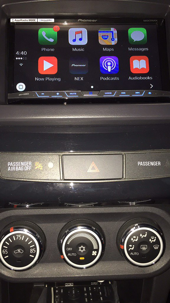 lancer evo x carplay install